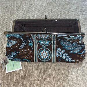 Vera Bradley Clutches Wallet Java Blue